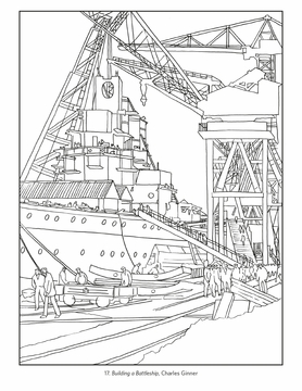 Imperial War Museums Coloring Book