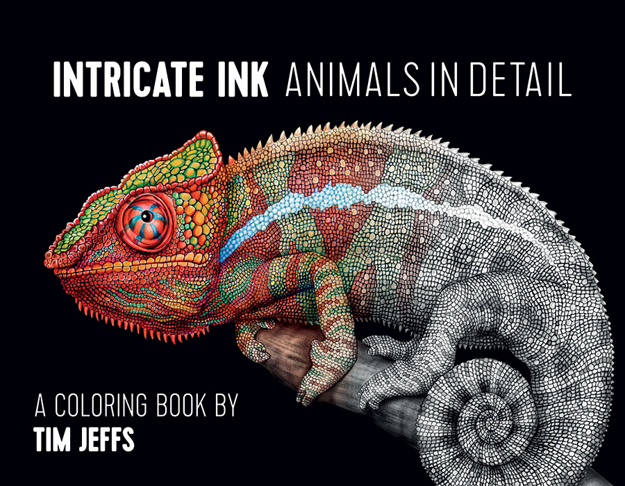 - Intricate Ink: Animals In Detail Coloring Book