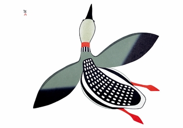Inuit Art: Birds from Cape Dorset Holiday Card Assortment
