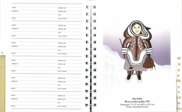 Inuit Art: Cape Dorset Deluxe Address Book