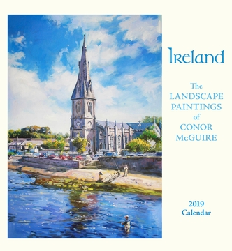 Ireland: The Landscape Paintings of Conor McGuire 2019 Wall Calendar