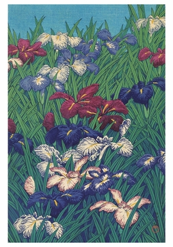 Irises Notecard