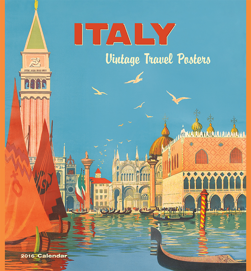 Calendar Vintage Travel Posters : Italy vintage poster videos hairy teen