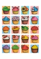 Janelle Dimmett: Cupcakes Birthday Card