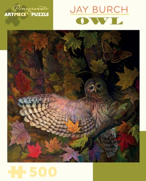 Jay Burch: Owl 500-piece Jigsaw Puzzle