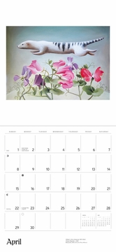 Jean Bradbury: Paintings 2018 Wall Calendar