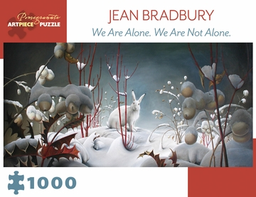 Jean Bradbury: We Are Alone. We Are Not Alone. 1000-Piece Jigsaw Puzzle