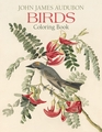 John James Audubon: Birds Coloring Book
