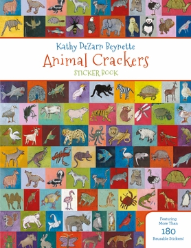 Kathy DeZarn Beynette: Animal Crackers Sticker Book