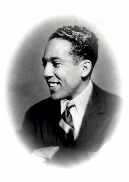 Langston Hughes Postcard