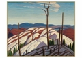 Lawren S. Harris: First Snow, North Shore of Lake Superior Holiday Cards