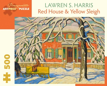 Lawren S. Harris: Red House & Yellow Sleigh 500-Piece Jigsaw Puzzle