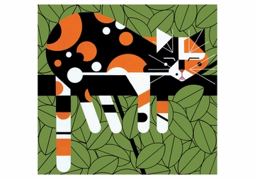 Charley Harper: Limp on a Limb Notecard