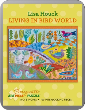 Lisa Houck: Living in Bird World 100-piece Jigsaw Puzzle