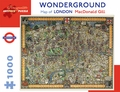 MacDonald Gill: Wonderground Map of London 1,000-piece Jigsaw Puzzle