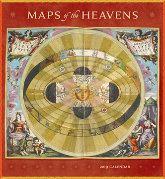 Maps of the heavens 2019 wall calendar gumiabroncs Gallery
