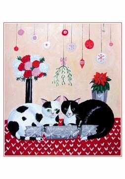 Mary Stubberfield: Christmas Cats Holiday Card Assortment
