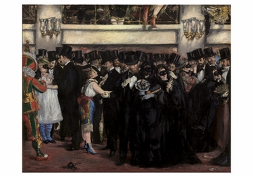 Masked Ball at the Opera Notecard