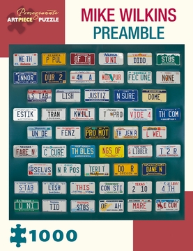 Mike Wilkins: Preamble 1000-Piece Jigsaw Puzzle