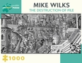 Mike Wilks: The Destruction of Pile 1000-Piece Jigsaw Puzzle