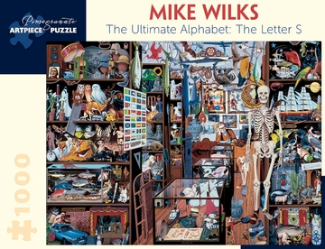 Mike Wilks: The Ultimate Alphabet: The Letter S 1,000-piece Jigsaw Puzzle