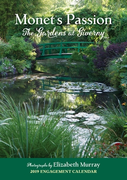 Monet's Passion: The Gardens at Giverny 2019 Engagement Calendar