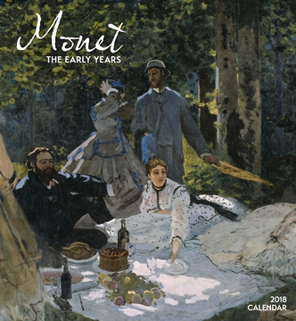 Monet: The Early Years 2018 Wall Calendar