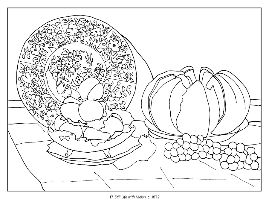 claude monet coloring pages 28 images how to draw claude monet