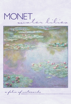 Water Lilies Notecard Folio