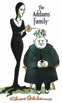 "Morticia and Uncle Fester 3 x 5"" Notepad"
