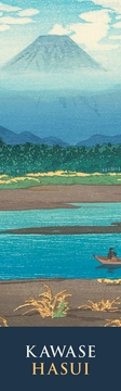 Mt. Fuji Seen from the River Banyu Bookmark
