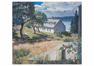 N. C. Wyeth's Maine Notecard Folio