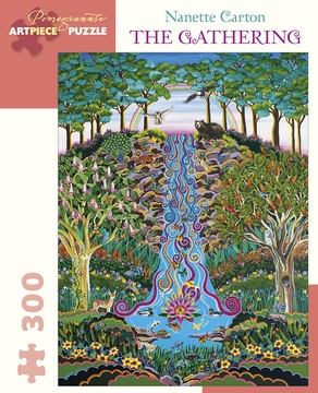Nanette Carton: The Gathering 300-Piece Jigsaw Puzzle