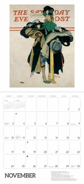 Norman Rockwell: The Saturday Evening Post 2019 Wall Calendar