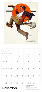 Norman Rockwell: The Saturday Evening Post 2018 Wall Calendar