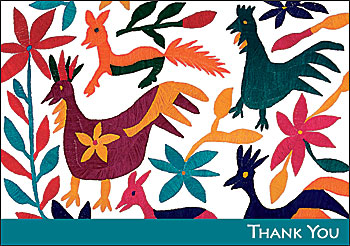 Otomi Designs Boxed Thank You Notes