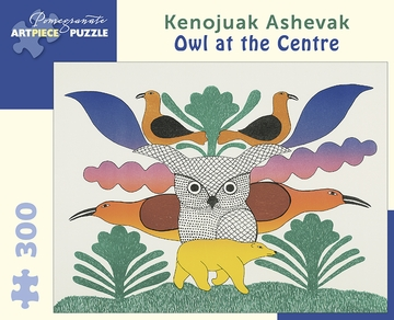 Kenojuak Ashevak: Owl at the Centre 300-piece Jigsaw Puzzle