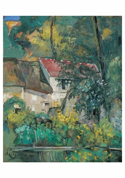House of Pere Lacroix Notecard