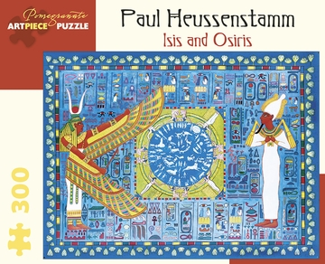 Paul Heussenstamm: Isis and Osiris 300-Piece Jigsaw Puzzle