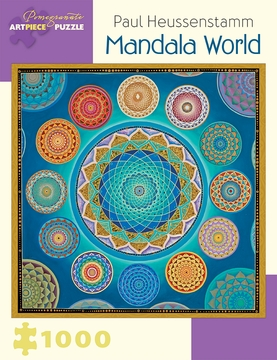 Paul Heussenstamm: Mandala World 1,000-piece Jigsaw Puzzle