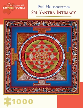 Paul Heussenstamm: Sri Yantra Intimacy 1,000-piece Jigsaw Puzzle