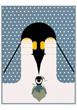 Penguins (B-r-r-r-r-rthday) Holiday Cards