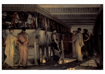 Pheidias and the Frieze of the Parthenon Notecard