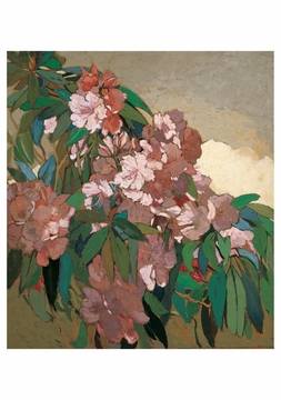 Pink Rhododendrons #2 Notecard