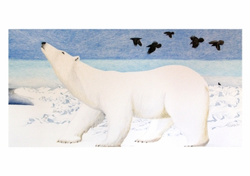 Polar Bear Notecard
