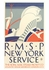 RMSP New York Service Postcard