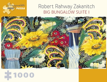Robert Rahway Zakanitch: Big Bungalow Suite I 1000-Piece Jigsaw Puzzle