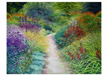 Rosalind Wise: Garden Borders Boxed Notecards
