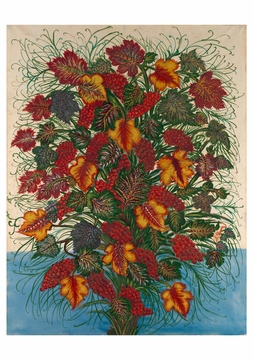 Séraphine Louis: The Large Bouquet Notecard