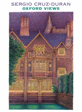 Sergio Cruz-Duran: Oxford Views Boxed Notecards